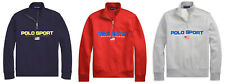 Ralph Lauren Polo Sport Half Zip American Flag Fleece Sweatshirt New $125