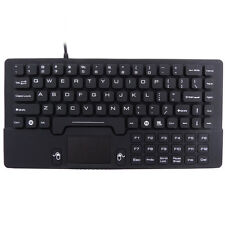 Industrial Mini Size Silicone Waterproof Keyboard with Touchpad IKB89