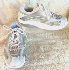 MBT M.Walk Silver 7 Fitness Footwear Physiological Footwear White Sport Shoes