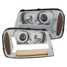 ANZO for 2006-2009 Chevrolet Trailblazer Projector Headlights w/ Plank Style Des