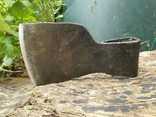 More details for vintage hand forged french centre pattern axe head