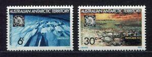s3413a) AUSTRALIAN ANTARCTIC 1971 MNH** Antarctic treaty 2v