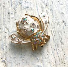 Joan Rivers Snow Crystal Bee Pin Rare