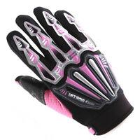 NEW Motorcycle Motocross MX ATV Dirt BMX Bike Racing Textile Gloves Pink XS-XXL