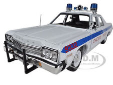 1974 DODGE MONACO CHICAGO POLICE DEPARTMENT CAR 1/18 MODEL AUTOWORLD AMM987