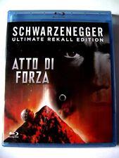 Blu-ray Atto di forza - Ultimate Rekall Edition di Paul Verhoeven 1990 Nuovo