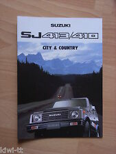 Suzuki SJ 410 (A,QA,QL,VA) / SJ 413 (QA,QX,VA,VX, Long) Prospekt, B (NL)