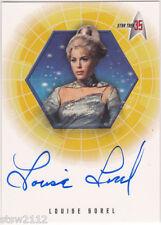 STAR TREK THE ORIGINAL SERIES 35TH ANNIVERSARY A28 LOUISE SOREL RAYNA AUTOGRAPH
