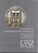 LANZ AUKTION 157 Katalog Numismatische Raritäten 9. Dezember 2013 ~