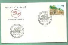 ITALIA BUSTA CAVALLINO 1997 GELA MURE TIMOLEONTEE  VITTORIO VENETO  ANNULLO FDC