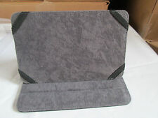 "NIB WOW UNIVERSAL PROTECTIVE CASE/ STAND FITS 7"" TABLETS MICROFIBER INTERIOR BLK"