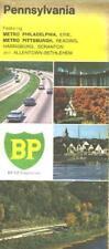 1971 BP Pennsylvania Vintage Road Map