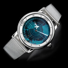 Boy London Mens Womens Unisex Fashion Casual Analog Wrist Radar Watch Gift