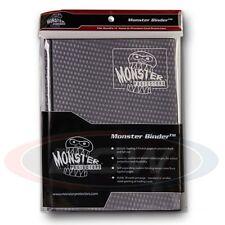9 POCKET MONSTER PROTECTOR BINDER - HOLOFOIL BLACK