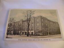 Vintage Postcard Hotel Norwood Normal Blvd,. Chicago Ill.