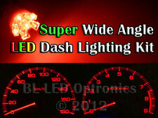 Red T10 194 168 6-LED Dash Kit For Nissan 300ZX Z32 Fairlady Z