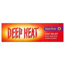 Deep Heat Frotar   Alivio rápido de dolores y los dolores musculares 100g