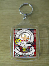 MAC FARLANE CLAN KEY RING (ACRYLIC) IMAGE DISTORTED TO PREVENT INTERNET THEFT