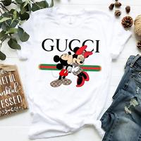 New Fashion Men 2020 Disne 1Micke Mous Graphic T-Shirt Gu Shirt Cotton S-5XL