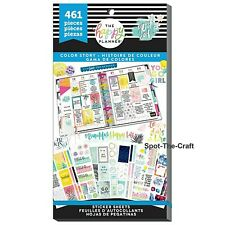 Happy Planner Stickers Book Color Story 3 Three 461