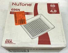 NUTONE 50 CFM Wall/Ceiling Mount Bathroom Exhaust Fan 696N