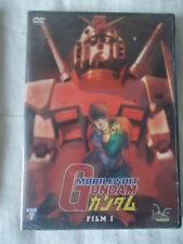 // NEUF *** Mobile Suit Gundam FILM 1 *** DVD  MANGA  ** RARE *** GUERRE ESPACE