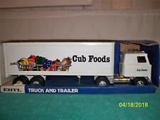 """Ertl Cub Foods International Semi-Truck Pressed Steel Mint In Box 22 1/2"""" Long"""