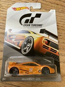 Hot wheels Mclaren F1 GTR (Gran Turismo)