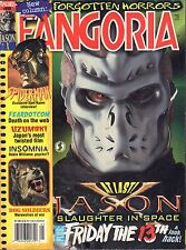 Fangoria May 2002  Jason X, Spiderman , Friday  The 13th  GD 090816DBE