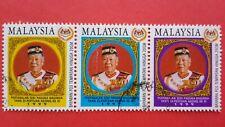 1999 Malaysia Installation Yang Di-Pertuan Agong XI - Stamp Set ( Used )
