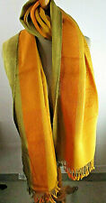 Vintage Sciarpa da Donna Alpaca Uomo Scialle Stola Nuovo Cuscinetti - Motivo