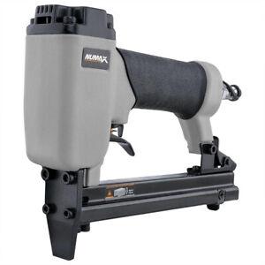 Upholstery Stapler 22-Gauge Crown Pneumatic 3/8 in. Staple Gun 1/4 NPT Air Tool