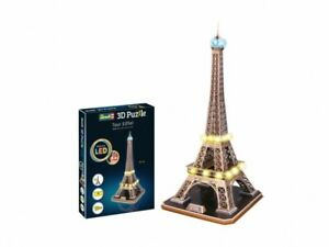 Revell Puzzle in 3D modellino torre Eiffel con led