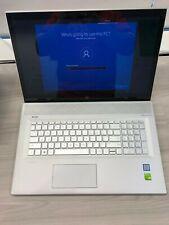 "EUC HP Envy 17"" Laptop 16GB RAM, 512GB HD, 17t-bw000 (2YY28AV) Intel i7-8550U"