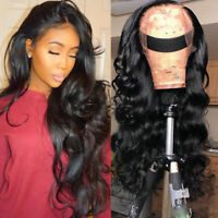 100% Silk Top Full Lace Front Wigs Pre Plucked Wavy Peruvian Remy Human Hair Wig