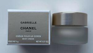 Chanel GABRIELLE  BODY CREAM miniature 6 G 0.21 OZ VIP GIFT