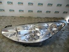 Headlight Headlamp Left Peugeot 308 SW 1.6 Hdi Facelift 9674040080 (H12)