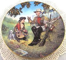 Gene Boyer BUFFALO BILL American Folk Heroes 4th Issue Collectors Plate Mint