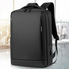 Men Women Backpack Bag School Travel Laptop Bags USB Charging Port