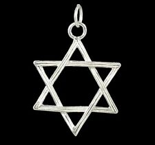 Sterling Silver charmmakers 925 Star of David - Large