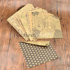 DIY Chiyogami Hand Craft Kraft Paper Origami Retro Double Side Gift 60 Pcs New