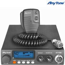 Anytone AT-708 Vehicle CB Radio Two Way Transceiver 24-29Mhz Ham Mobile Radio