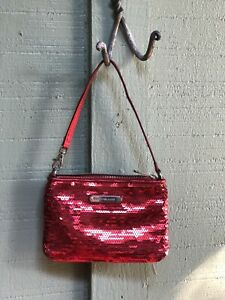 michael kors Red Sequined Wristlet