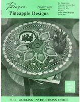 Vintage Crochet Book - Paragon Book 110 - Pineapple Designs - Thread Crochet