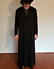 Vintage Long 100% Wool Opera Victorian Costume Long Coat - tailor custom made