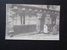 CPM Reproduction Carte d'Autrefois Quimper Vieille maison de la Rue du Gué-Odet