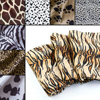 Tiger leopard Animal Skin Print Fabric Quilting Indoor Upholstery, By zhe Yard