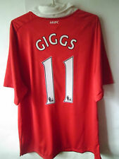 EXCELLENT!!! GIGGS !!! 2010-11 Manchester United Home Shirt Jersey Trikot XL