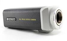 HITACHI Denshi KP-120U CCTV All Solid State CCD Security Video Camera