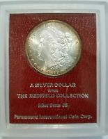 1879 S Morgan Dollar Redfield Collection Hoard Pedigree Paramount Toned Toning